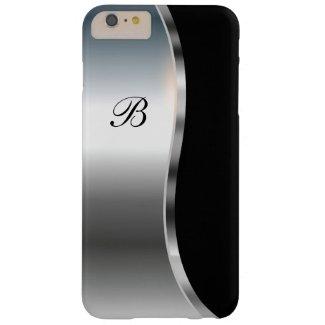 Coque de protection pour iPhone 6/6S, noir et métal
