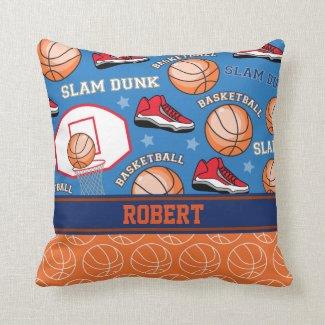 Coussin décoratif, sport, basketball